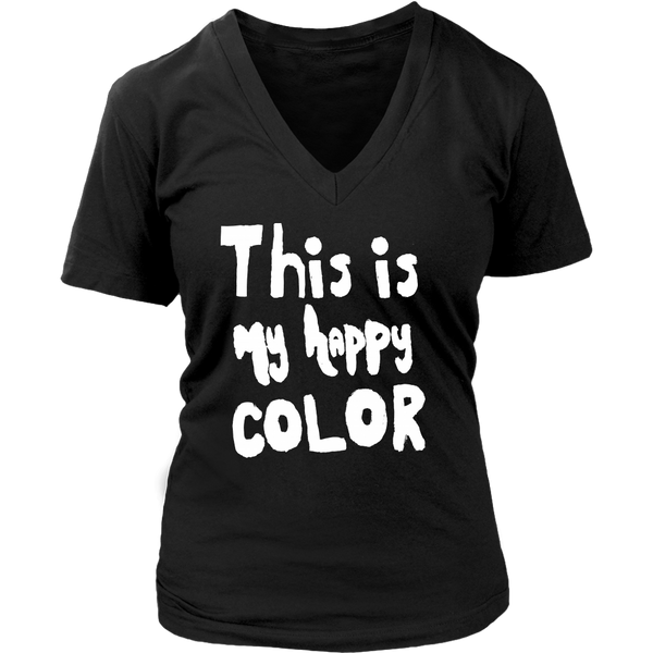 Happy by Meagan Women's V-Neck