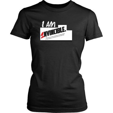 I Am Invincible Women's Shirt