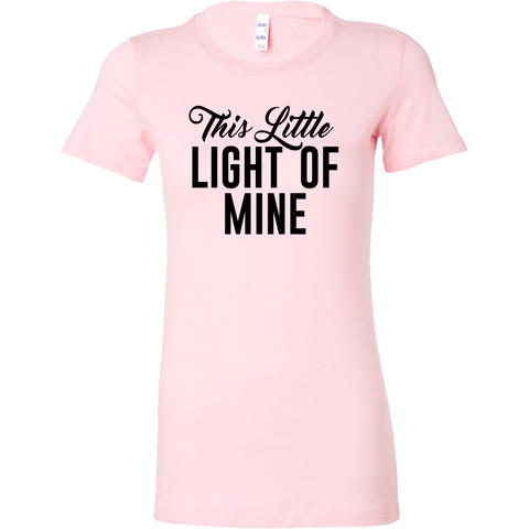 This Little Light of Mine Bella Women's Tee