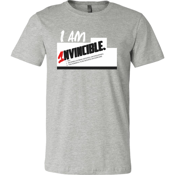 I Am Invincible Men's Shirt