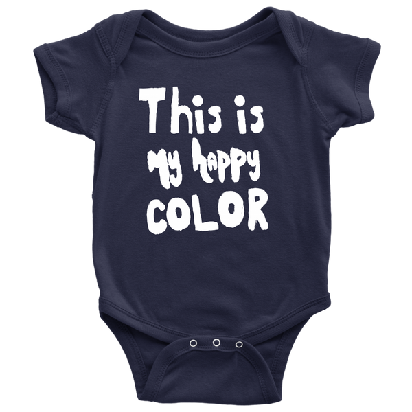 Happy by Meagan Baby Onesie