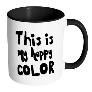 Happy by Meagan Accent Mug