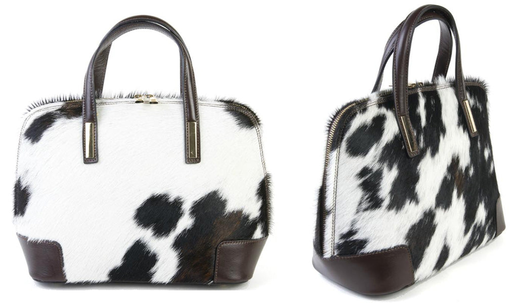 Animal Print Cow Hair Bag
