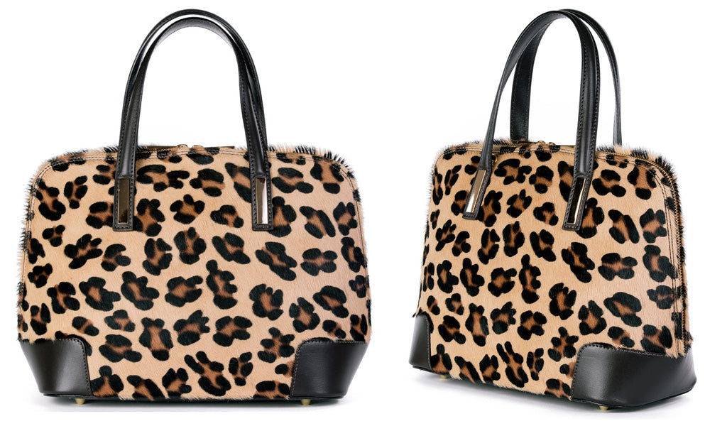 Animal Print Leopard Handbag