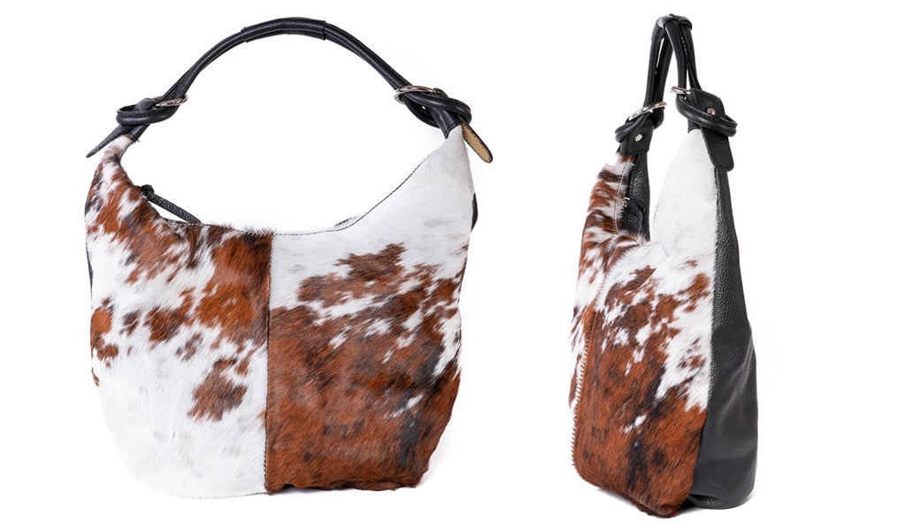 Slouchy Print Animal Bag