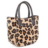 Leopard Mini Grab Bag Side - Amilu