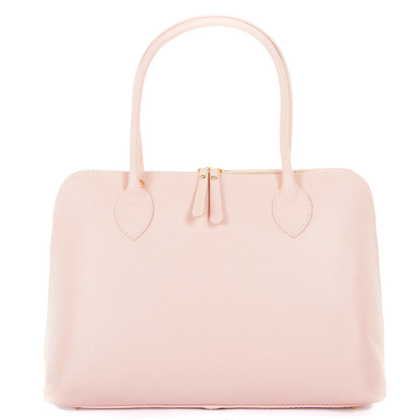 Rose Real Leather Shoulder Handbag