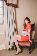Real Leather Mini Grab Bag - Lifestyle - Amilu
