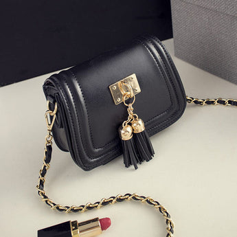 Cute Mini Tassel Chain Bag - Fabstyle Company