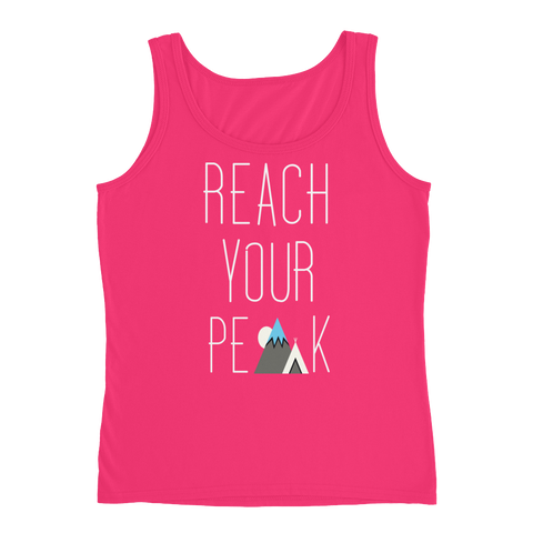 Frozen Summit Clothing Co. | Reach Your Peak Women's Tank
