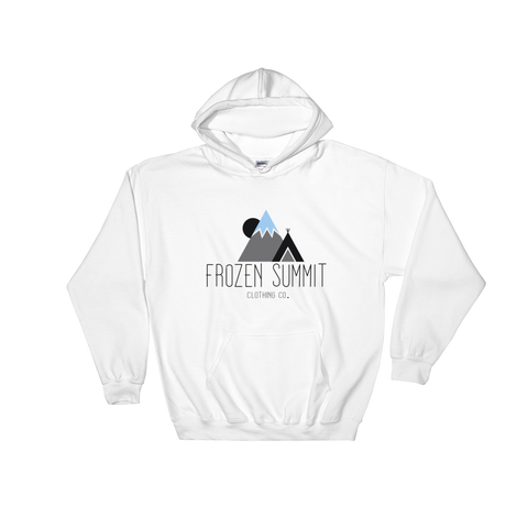 Frozen Summit Clothing Co. | Classic Blizzard White Hoodie