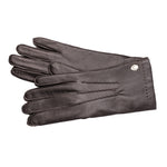 Pinch Pleats Reindeer Leather Gloves