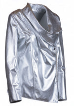 Draped Reindeer Leather Jacket -  Limited Edition