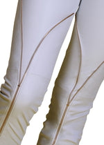 Zippered Legs Reindeer Leather Pants- Limited Edition