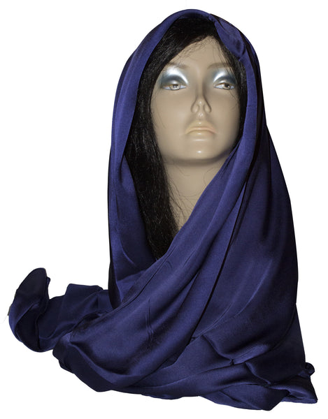 Korean Silk - Midnight Purple - Afghan Bazaar