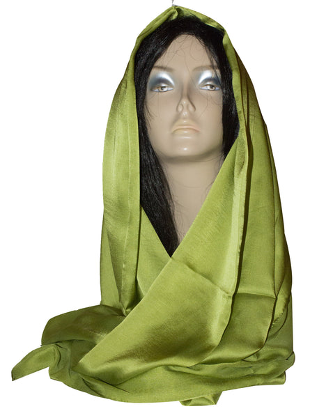 Korean Silk - Lime Green - Afghan Bazaar