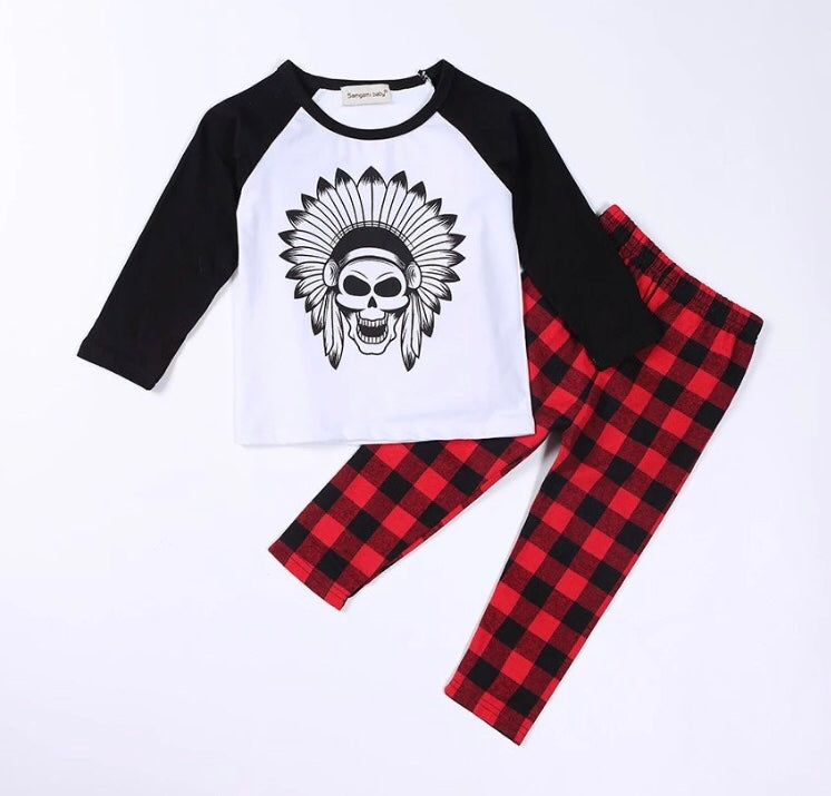 Long-sleeve Skull Set