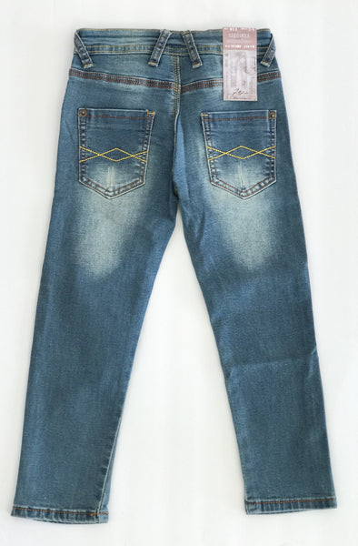 Girls Distressed Skinny Jeans