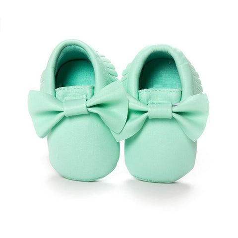 Mint Baby Moccasin
