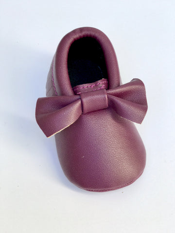 Purple Baby Moccasin