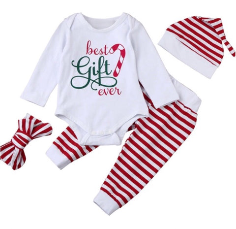 Best Gift Ever 4 piece infant set
