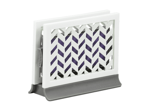 Décor Station - Chevron Gray / Lavender Vanilla - dollarscentclub
