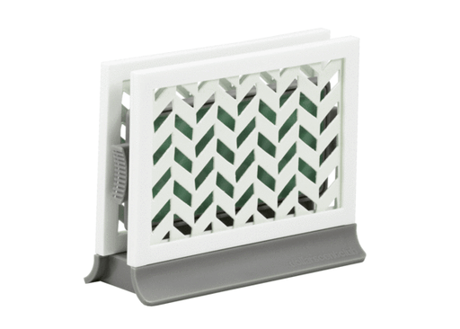 Décor Station - Chevron Gray / Spring Meadow