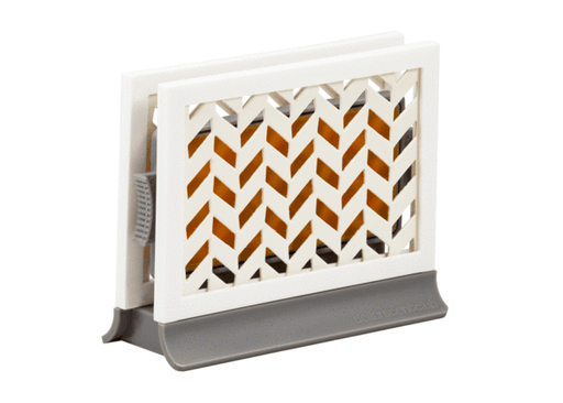Décor Station - Chevron Gray / Beach Paradise - dollarscentclub