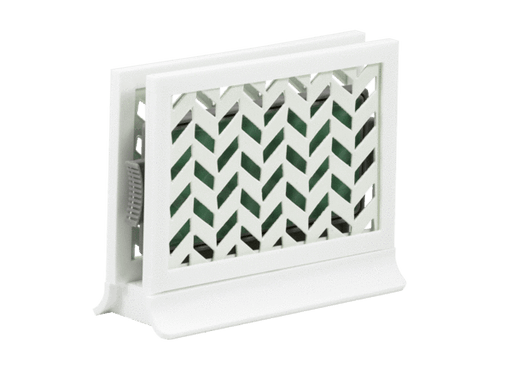 Décor Station - Chevron White / Spring Meadow