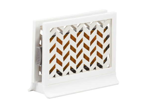 Décor Station - Chevron White / Beach Paradise