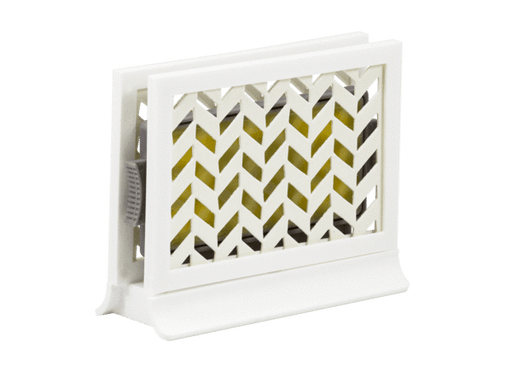 Décor Station - Chevron White / Pure Vanilla
