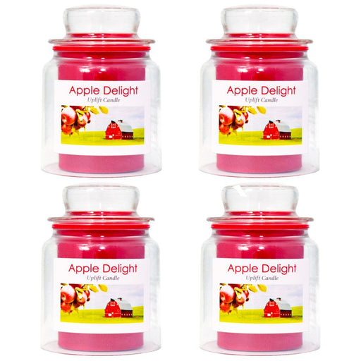 BoQáy® Flameless Candle - Apple Delight (4 pack) - dollarscentclub
