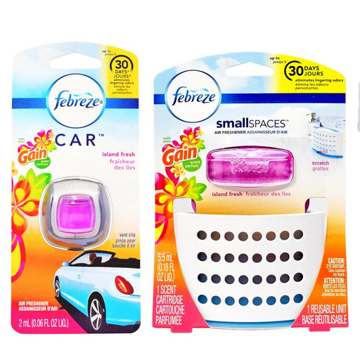 Febreze® Home & Auto Bundle - Gain Island Fresh
