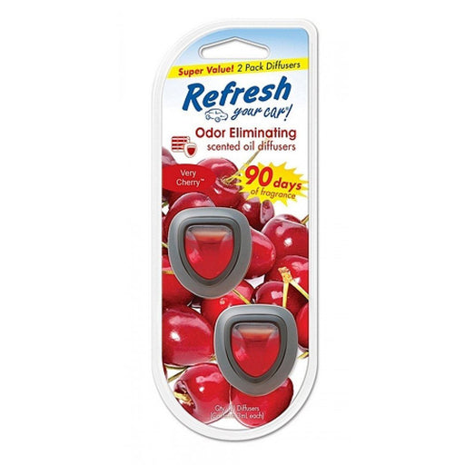 Refresh Your Car® Vent Clips - Very Cherry (2 pack) - Limited Quantity