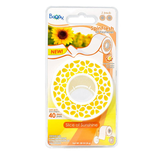 BoQáy® TP Air Freshener - Slice of Sunshine
