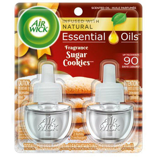 Air Wick Scented Oil 2 Refills, Sugar Cookies