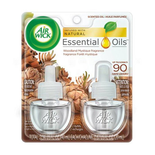 Air Wick Scented Oil 2 Refills, Woodland Mystique