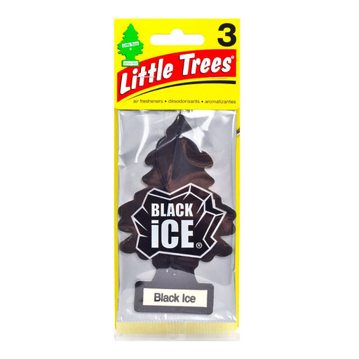 Little Trees® - Black Ice (3 pack)
