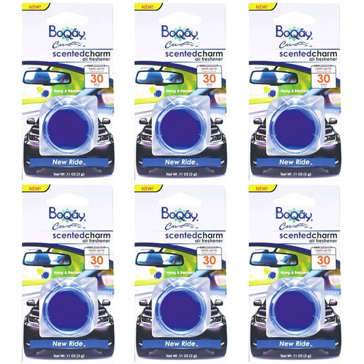 BoQáy® Scented Charm - New Ride (6 pack)