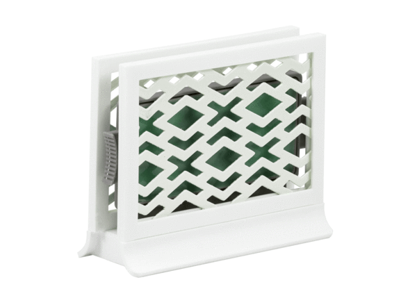Décor Station - Diamonds White / Pine