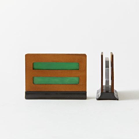 Scent Station - Wood & Black / Fresh Linen