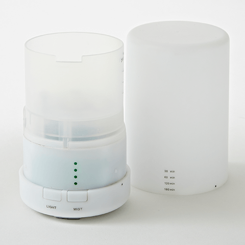 Ultrasonic Diffuser</br> White - Bundle