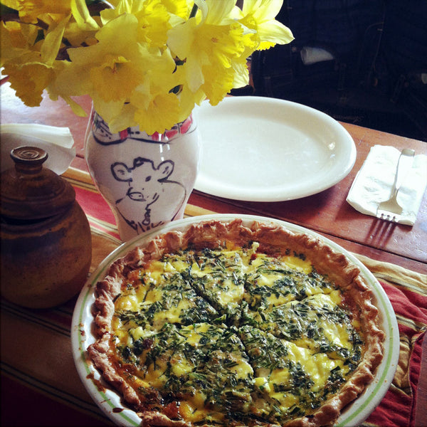 Spinach Ricotta Quiche