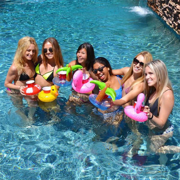 Pool Party Cup Holders