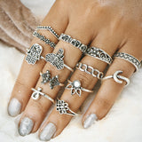 Load image into Gallery viewer, Vintage Knuckle Ring Set - inspirexpress.com
