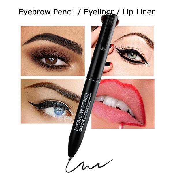 4 in 1 Travel Makeup Pencil