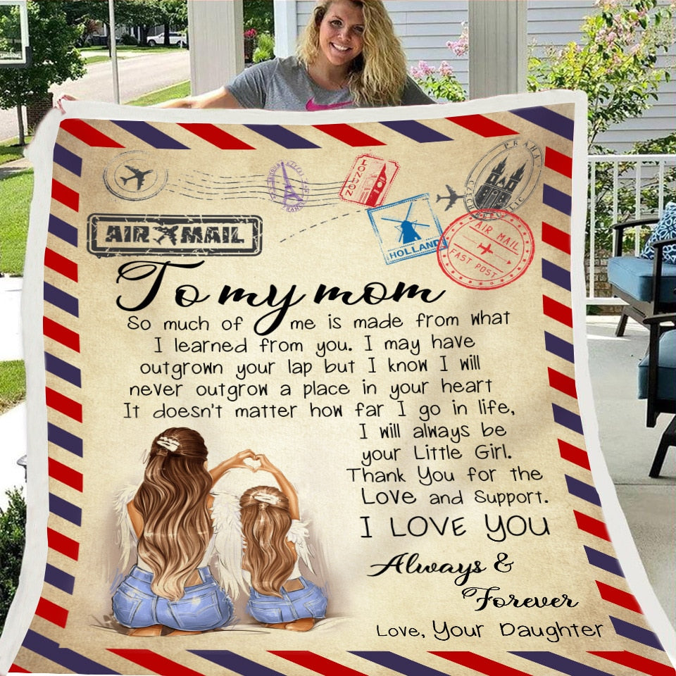 Express Love Letter Throw Blanket