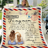 Load image into Gallery viewer, Express Love Letter Throw Blanket