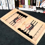 Load image into Gallery viewer, Wooden Sling Hockey Board Game