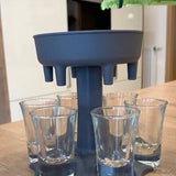 Load image into Gallery viewer, Party Shot Glasses Dispenser Holder